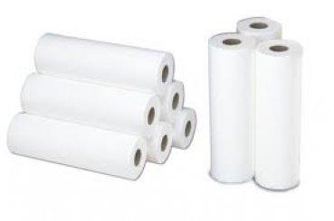 Papierrollen 9 Stück Ärztekrepp Pro Eco Tissue 2lagig perforiert 50cmx50m