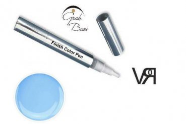 Finish Color Pen Light Blue 4,5 ml.  - ALL IN ONE Farbgel -
