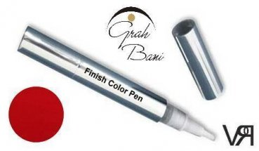 Finish Color Pen Sun Red 4,5 ml. - ALL IN ONE Farbgel -