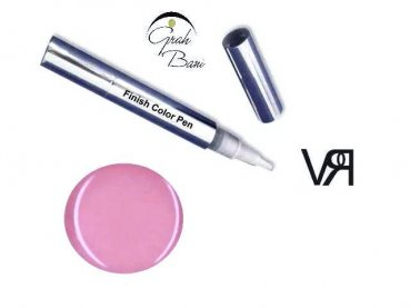 Finish Color Pen Soft Pink 4,5 ml. - ALL IN ONE Farbgel
